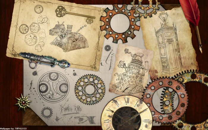steampunk-mechanical-maps-clock-watch-gears-free-pictures
